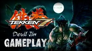 TEKKEN 7   Devil Jin Gameplay   ARCADE