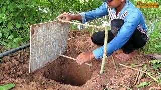 কুমির ধরার ফাদ ( খেজুরের কাটা দিয়ে মাছ ধরা) , ভাদাইমা কিস্তির জ্বালায় কবরে