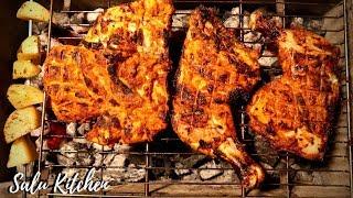 How To Make Homemade Simple Al Faham    Arabic Grill    Salu Kitchen