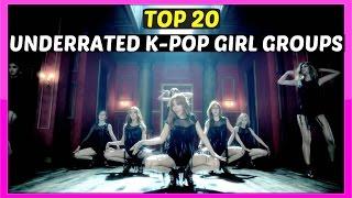[TOP 20] UNDERRATED K-POP GIRL GROUPS - 2016