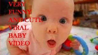 Very cute funny baby copying his father latest funny whatsapp india viral video