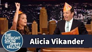 Alicia Vikander Celebrates Sweden