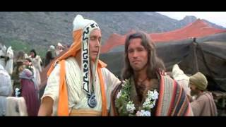 Weirdest scene in Conan the Barbarian (1982) - Conan and the Priest