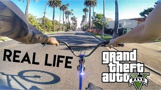 GTA REAL LIFE BMX #2 Beverly Hills