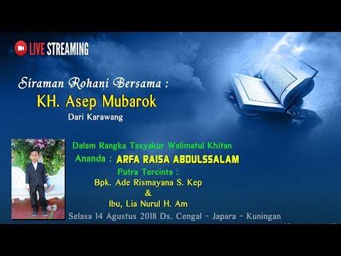 Xxx Mp4 SIRAMAN ROHANI KH Asep Mubarok Dari Karawang Live Ds Cengal Japara Kuningan 3gp Sex