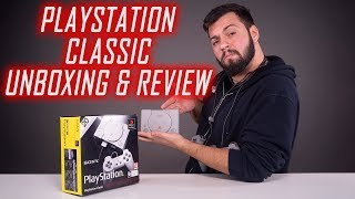 PlayStation Classic - Unboxing, Gameplay & Review - Cavaleria.ro