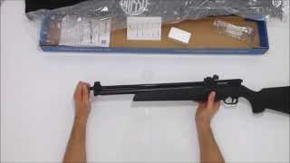 Carabina de Pressão Webley Rebel Multi Pump 5,5mm + capa