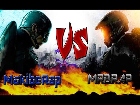 Jefe Maestro vs Capitan america Batallas de Rap MRBRAP ft MakibeRap