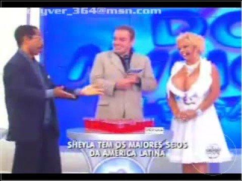Sheyla Almeida No GuGu Maior Seio do Brasil. Parte 2 19.out.08