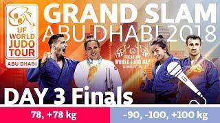 Judo Grand-Slam Abu Dhabi 2018: Day 3 - Final Block