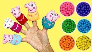 Peppa Pig Finger Family Nursery Rhyme Songs