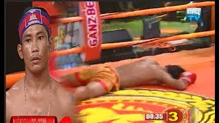 Sok Sovan vs Senanoy(thai), Khmer Boxing My TV 21 July 2017, Kun Khmer vs Muay Thai