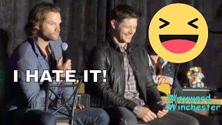 Jared Padalecki HATES doing THIS On Supernatural & Jensen LOSES IT! SanFranCon 2017