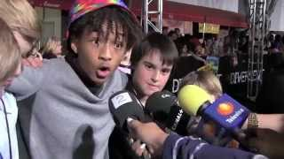Jaden Smith act crazy on Red Carpet