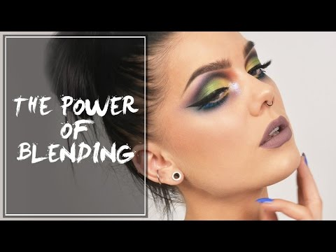 The Power Of Blending with KVD Mi Vida Loca Remix Palette - Linda Hallberg Make up tutorials