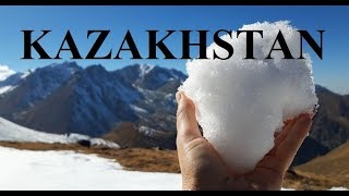 Kazakhstan (On the top of Trans-Ili Alatau Range-3316m. ) Part 7
