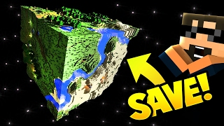 Minecraft: I SAVE THE WORLD!!