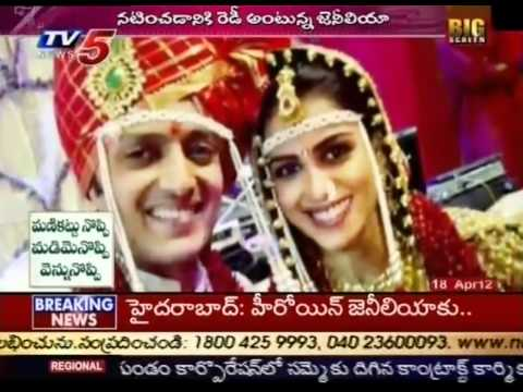 Genelia D'Souza Ready For Second Innings After Marriage (TV5)