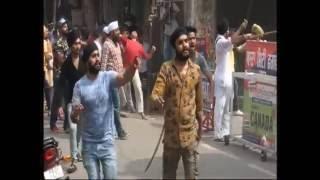 phagwara clash shiv sena and muslims live shots