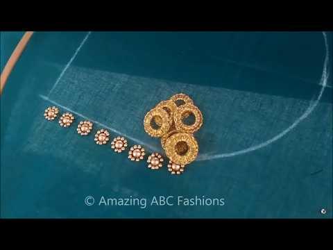 Xxx Mp4 ग्रीन बीड्स ब्लाउज डिज़ाइन Green Beads Blouse Design In Hindi 3gp Sex