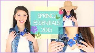 Spring Essentials 2015 | Celeste Angelica