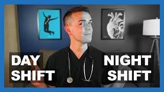 DAY SHIFT vs NIGHT SHIFT for Nurses
