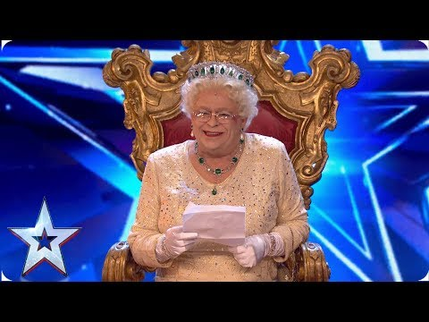 OMG! Did the Queen just say that?! | Auditions | BGT 2019 Video Clip
