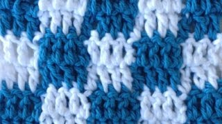Download CROCHET STITCHES Checks Changing Colors How to Pattern Maggie Weldon 3Gp Mp4