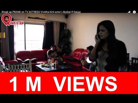 Xxx Mp4 Break Up PRANK On TV ACTRESS Vividha Kirti Actor Akshat R Saluja 3gp Sex