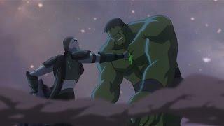 Planet Hulk: Hulk vs Caiera