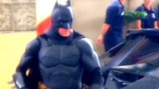 SPECIAL SHOW 2014 BATMAN SAVES GOTHAM FROM SCARECROW LEAGUE OF SHADOWS LIVE STREET ACTION MOVIE