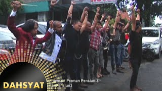 Anwar olahraga bareng pemain Preman Pensiun 3 [Dahsyat] [14 Des 2015]
