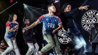 Les Twins @ KOD 2016 || Semi Final: Dance Battle (FRANCE) VS (CHINA)
