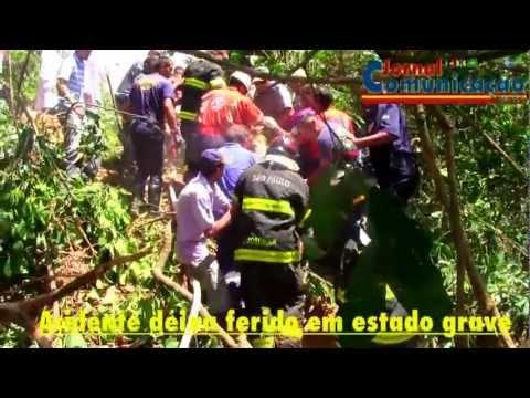 Acidente com caminhão deixa ferido em estado grave em Santana de Parnaíba