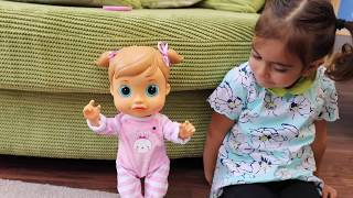 Emily Teaching Baby Emma Words - Baby Wow Chatty Emma