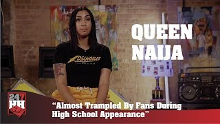 Queen+Naija+-+Almost+Trampled+By+Fans+During+High+School+Appearance+%28247HH+Exclusive%29