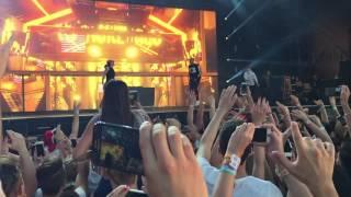 Chris Brown at Balaton Sound 2016 - Five more hours