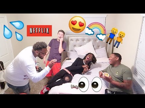 Xxx Mp4 NETFLIX AND CHILL I M G Y PRANK THEY RE G Y 2 😍💦👅 3gp Sex