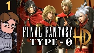 Let's Play Final Fantasy Type-0 HD Part 1 - Chapter 1: War - Three Hours that Changed the World