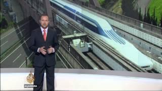 Japan's maglev train breaks world speed record