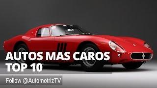 TOP 10 Autos mas Caros del Mundo