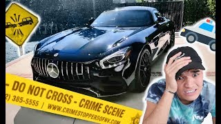 HE WRECKED MY BRAND NEW CAR! *HIT & RUN*