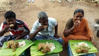 Cooking 3 Full Chicken in Coconut Milk in My Village - Food Money Food