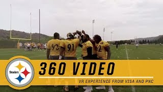 Pittsburgh Steelers 360° VR Experience from Visa and PNC