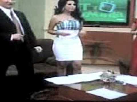 Anayanssi Moreno Vestido Blanco