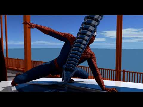 Spider Man 3D Animation