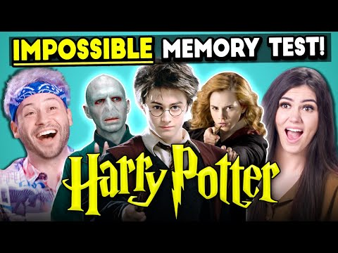 The Impossible Harry Potter Memory Test Too Much Information