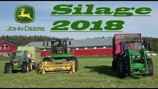 Grass Silage 2018 ( John Deere machinery )