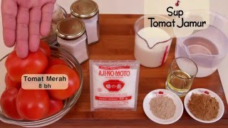 Dapur Umami - Sup Tomat Jamur