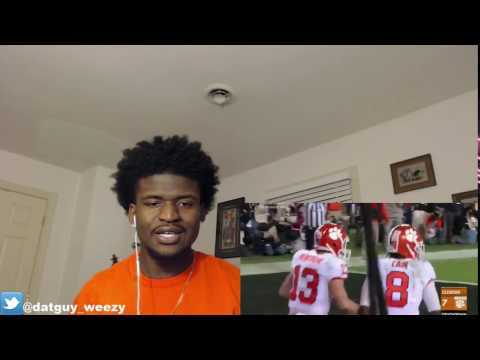1 Alabama vs. 2 Clemson Highlights CRAZY 2016 17 National Championship Highlights REACTION